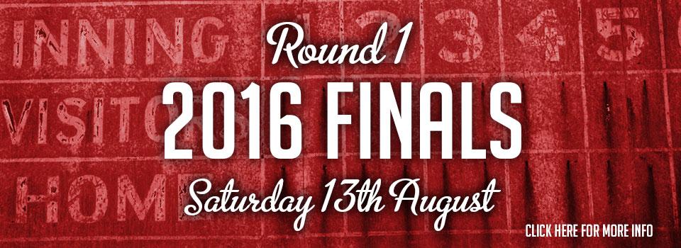 Senior Teams & Finals: 13th August