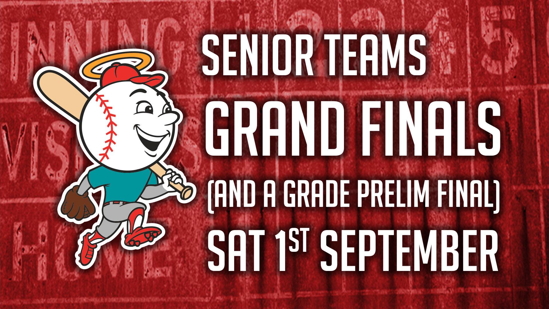Senior Teams: 1st September