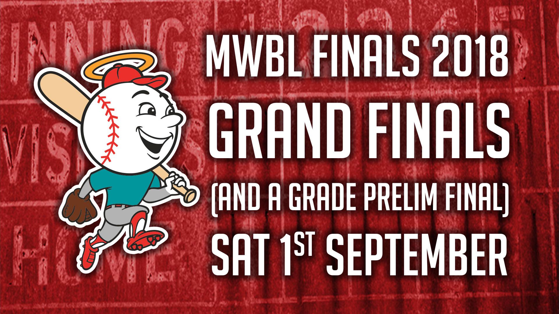 Finals Information: 1st September