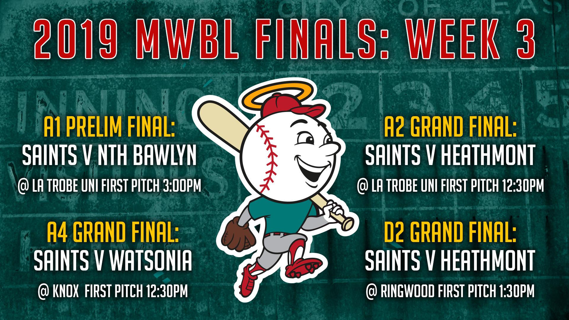 Senior Teams: Finals Week 3